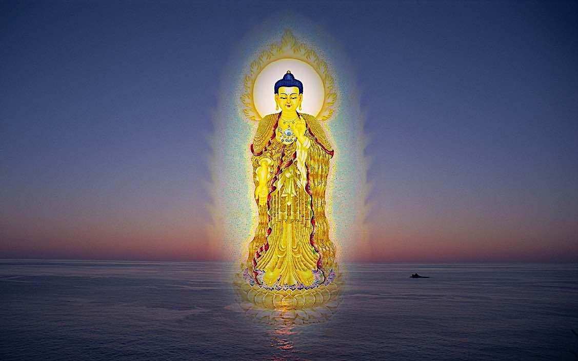 Buddha Weekly Amitabha in Chinese style Buddhism
