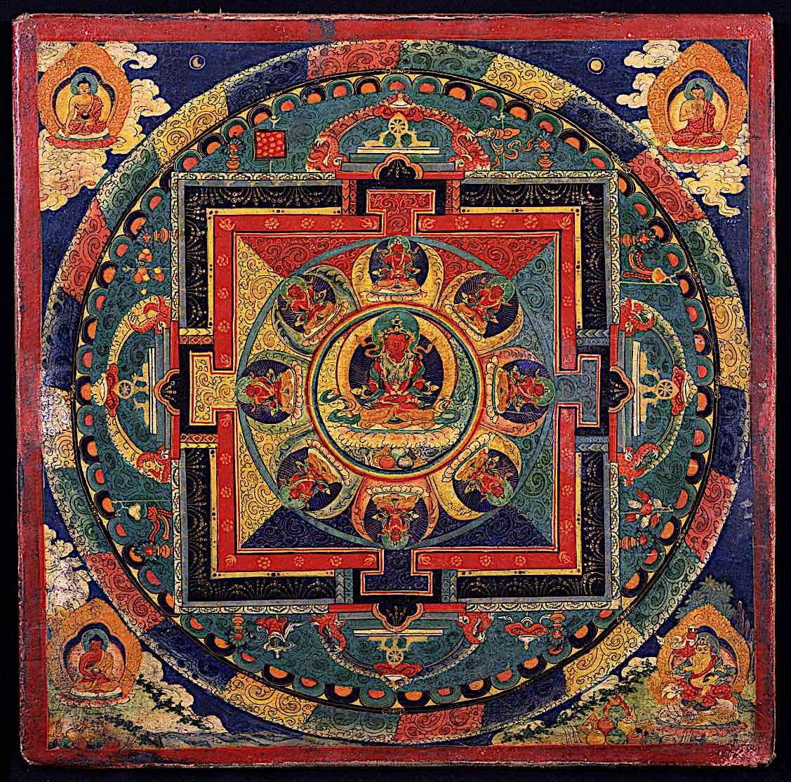 Buddha Weekly Amitayus Mandala Buddhism