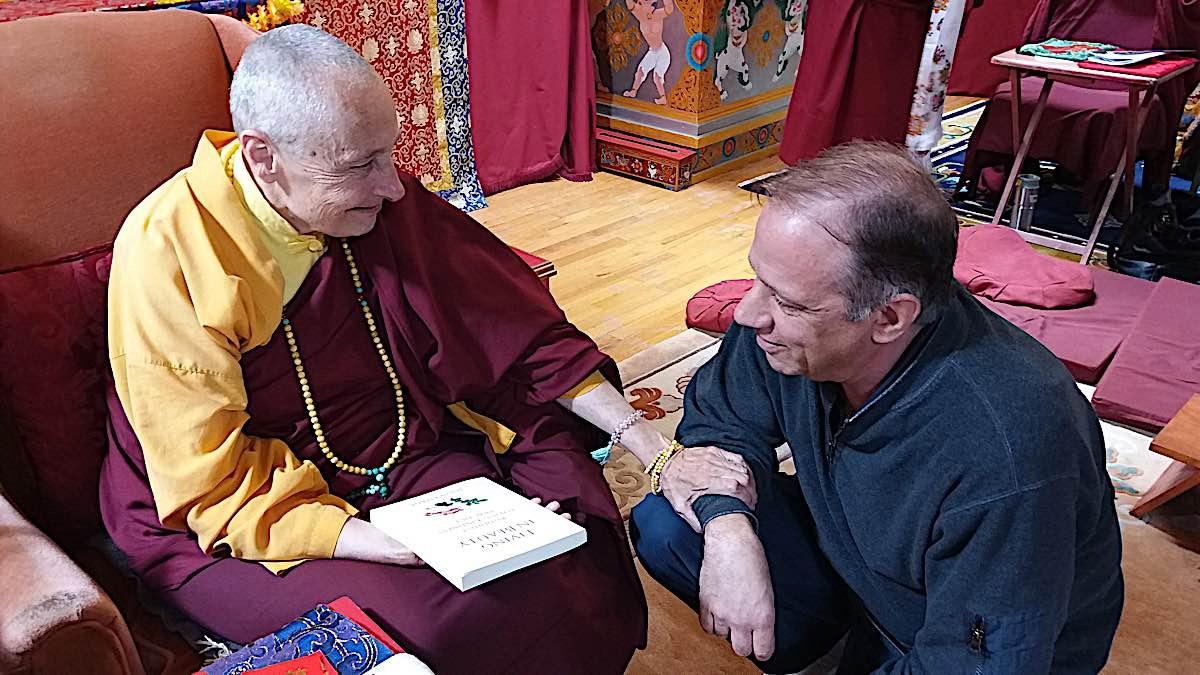 Buddha Weekly Ani Tenzin Palmo and me Buddhism