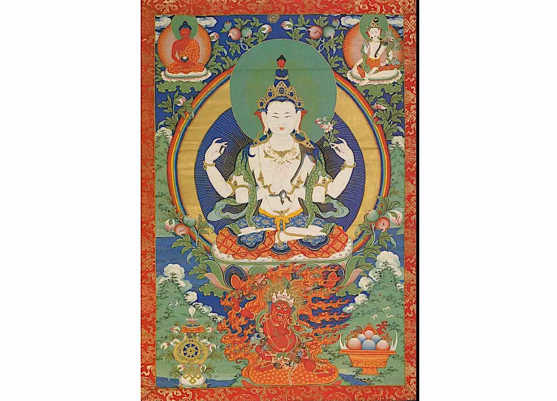 Buddha Weekly Avalokiteshvara Himilayanart org Buddhism
