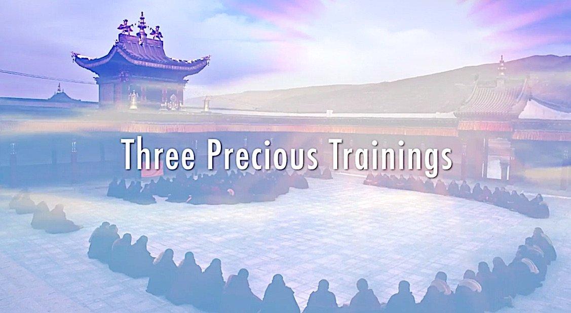 Buddha Weekly BW Venerable Robina Courtin Three Precious Trainings Buddhism