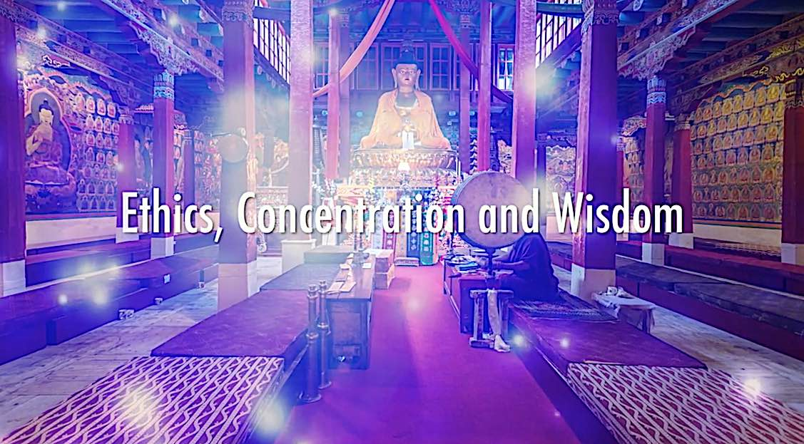 Buddha Weekly BW video Ven Robina Courtin Ethics concentration wisdom Buddhism