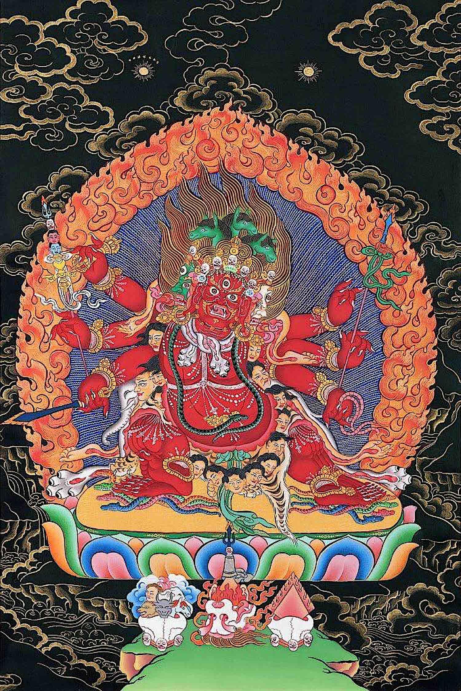 Buddha Weekly Beautiful Hayagriva Sang Drup Secret Accomplishment Buddhism 1