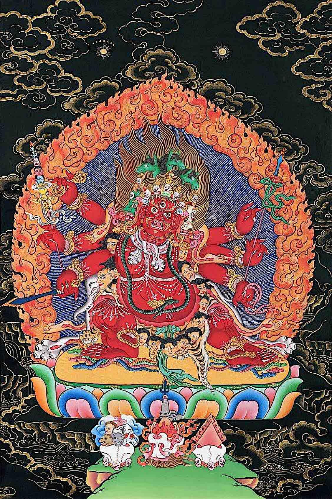 Buddha Weekly Beautiful Hayagriva Sang Drup Secret Accomplishment Buddhism