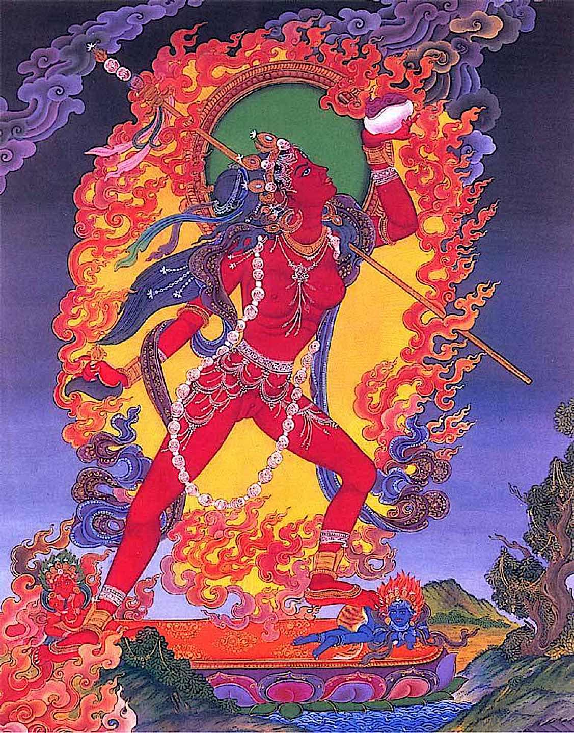 Buddha Weekly Beautiful Vajrayogini modern style Buddhism
