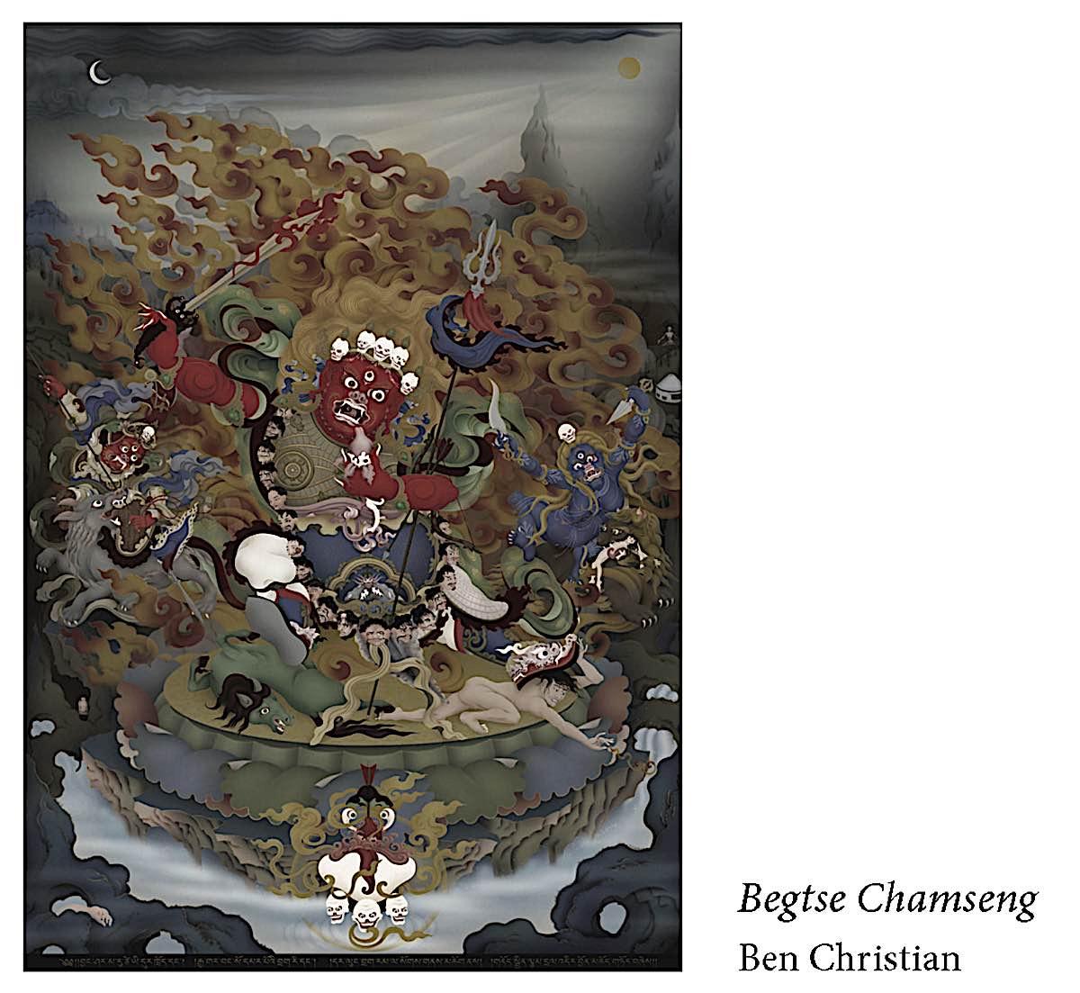 Buddha Weekly Begtse Chemseng Ben Christian a Protector of the Hayagriva cycle Buddhism