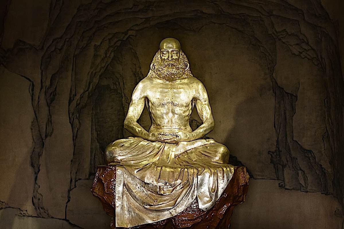 Buddha Weekly Bodhidharma sculpture Buddhism