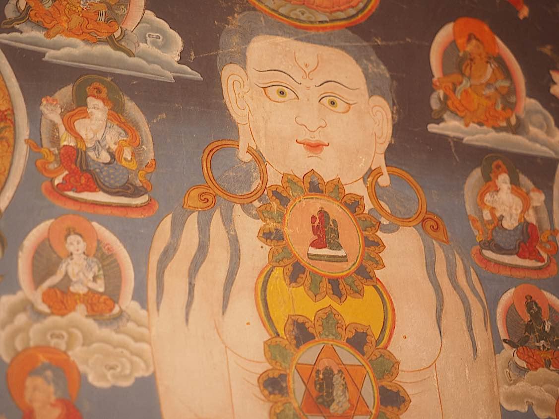 Buddha Weekly Body Manadala detail Buddhism
