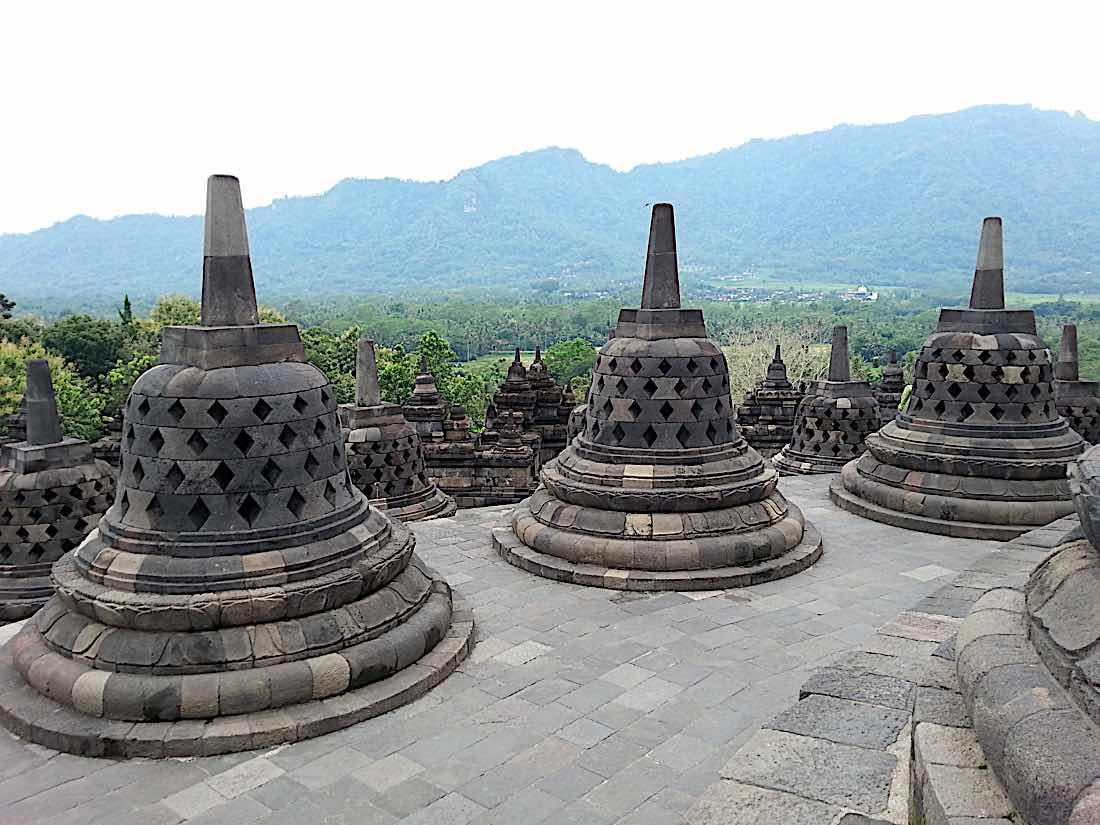 Buddha Weekly Borobudur temple Indonesia Buddhism