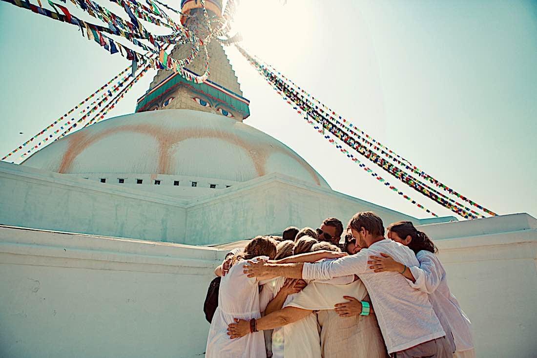 Buddha Weekly Boudhnath Stupa Kathmandu Buddhism