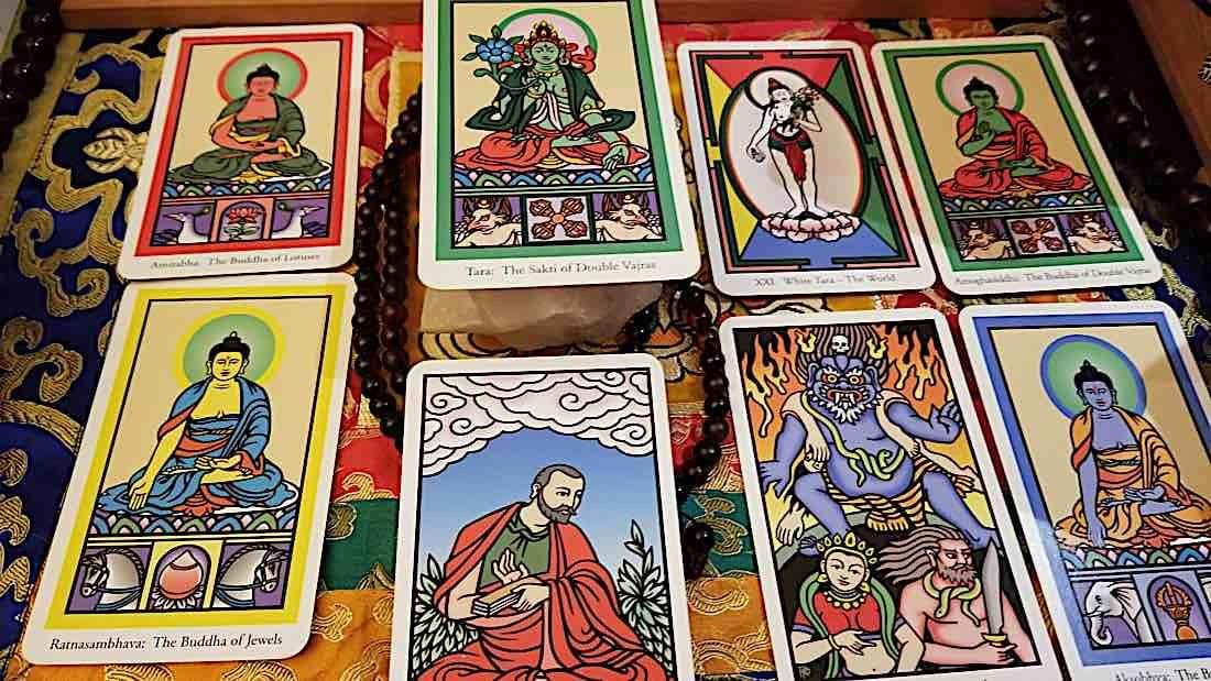 Buddha Weekly Buddha Tarot Various images Buddhism