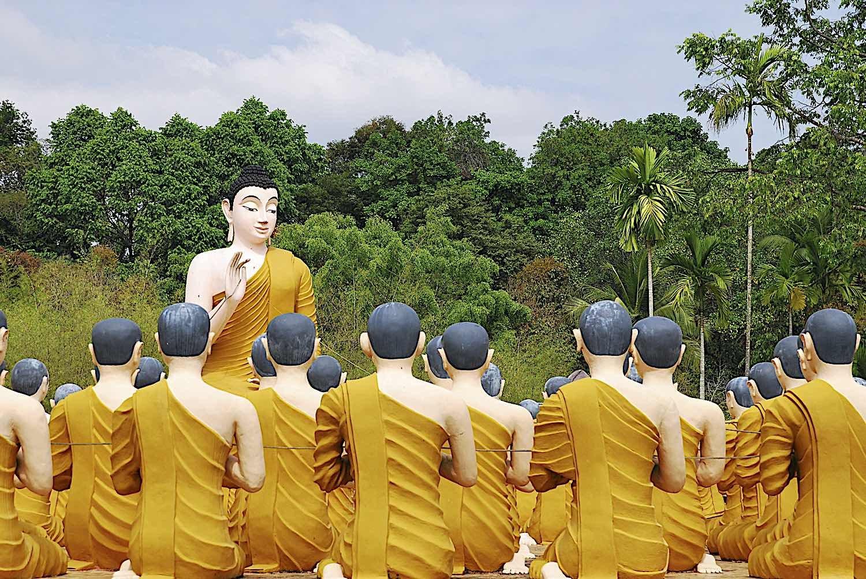 Buddha Weekly Buddha Teaching Monks Temple Jantaburi in Thailand dreamstime xxl 13803814 Buddhism
