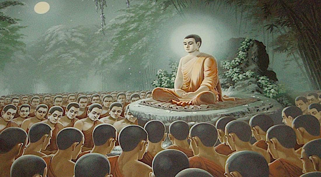 Buddha Weekly Buddha Teaching the Monks Sutta Sutra Buddhism