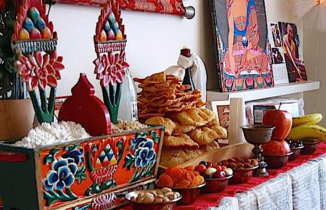 Buddha Weekly Buddha Weekly Losar food Buddhism Buddhism