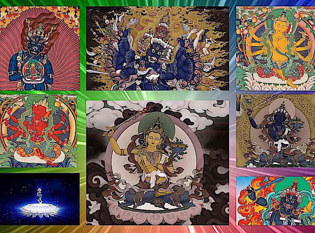 Buddha Weekly Buddha Weekly Many faces of Manjushri Yamantaka Black Manjushri Buddhism Buddhism
