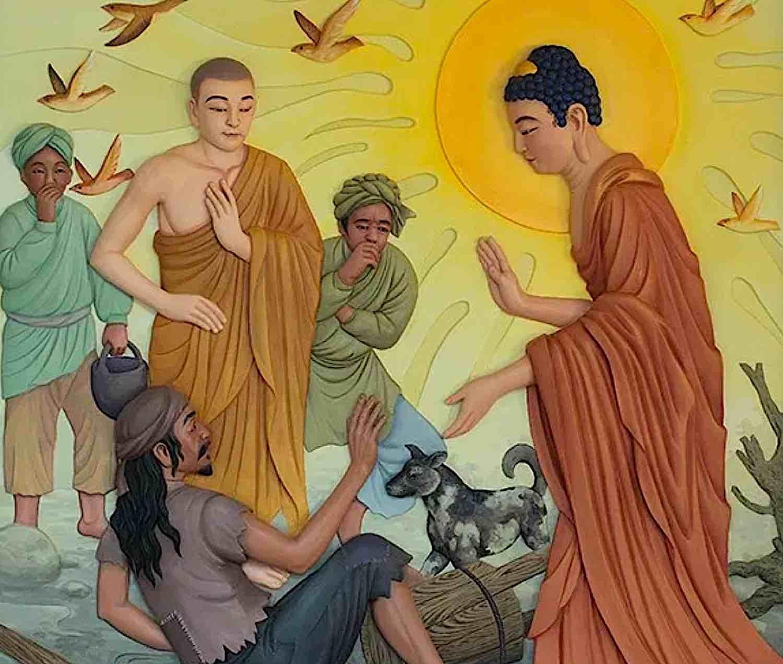 Buddha Weekly Buddha and the Untouchable with excrement Buddhism