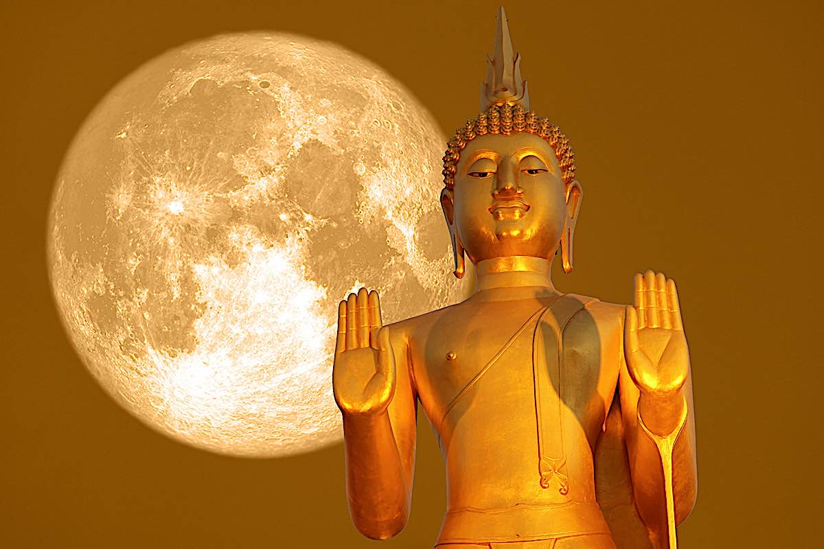 Buddha Weekly Buddha full moon. jpg Buddhism