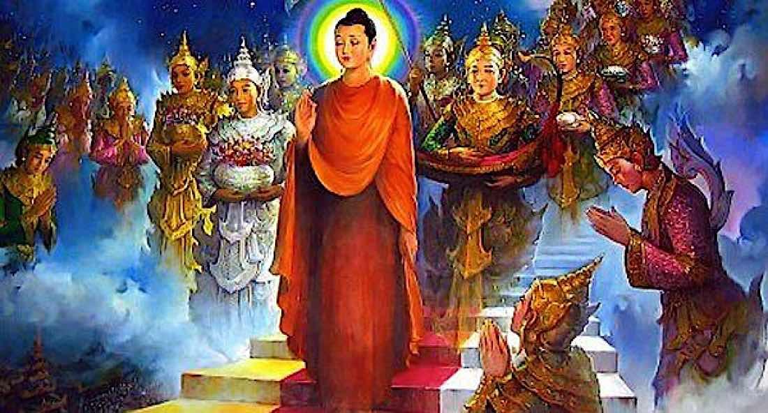 Buddha Weekly Buddha in Tushita Heaven Buddhism