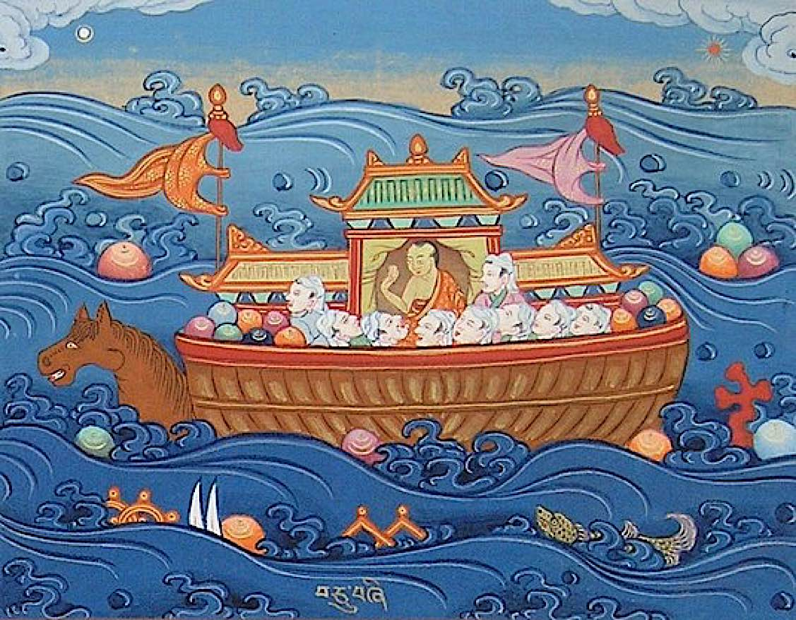 Buddha Weekly Buddha in a previous life as ships captain Buddhism