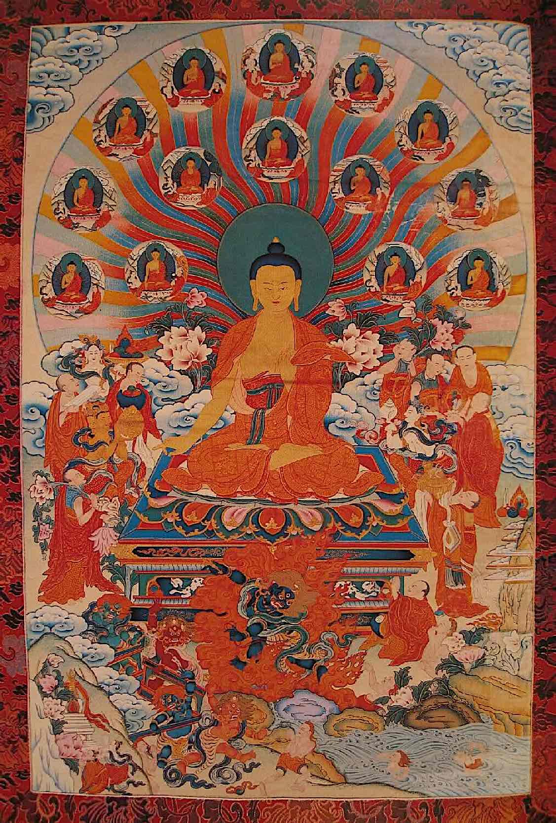 Buddha Weekly Buddha performing the 15 days of miracles Buddhism