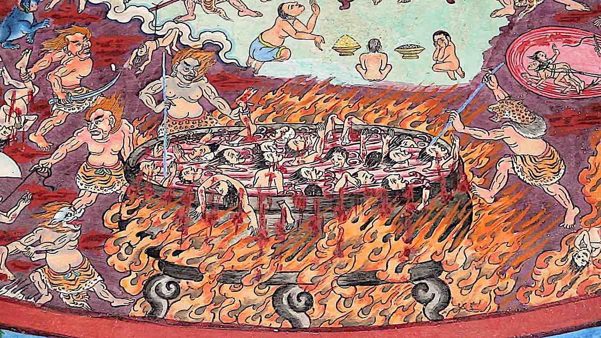 Buddha Weekly Buddhist Hell Realms Buddhism