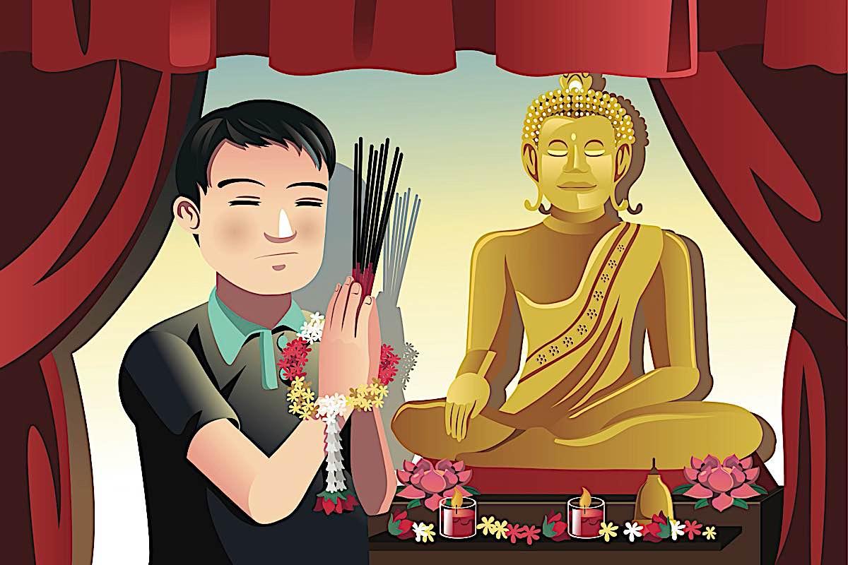 Buddha Weekly Buddhist devotion with Buddha Buddhism