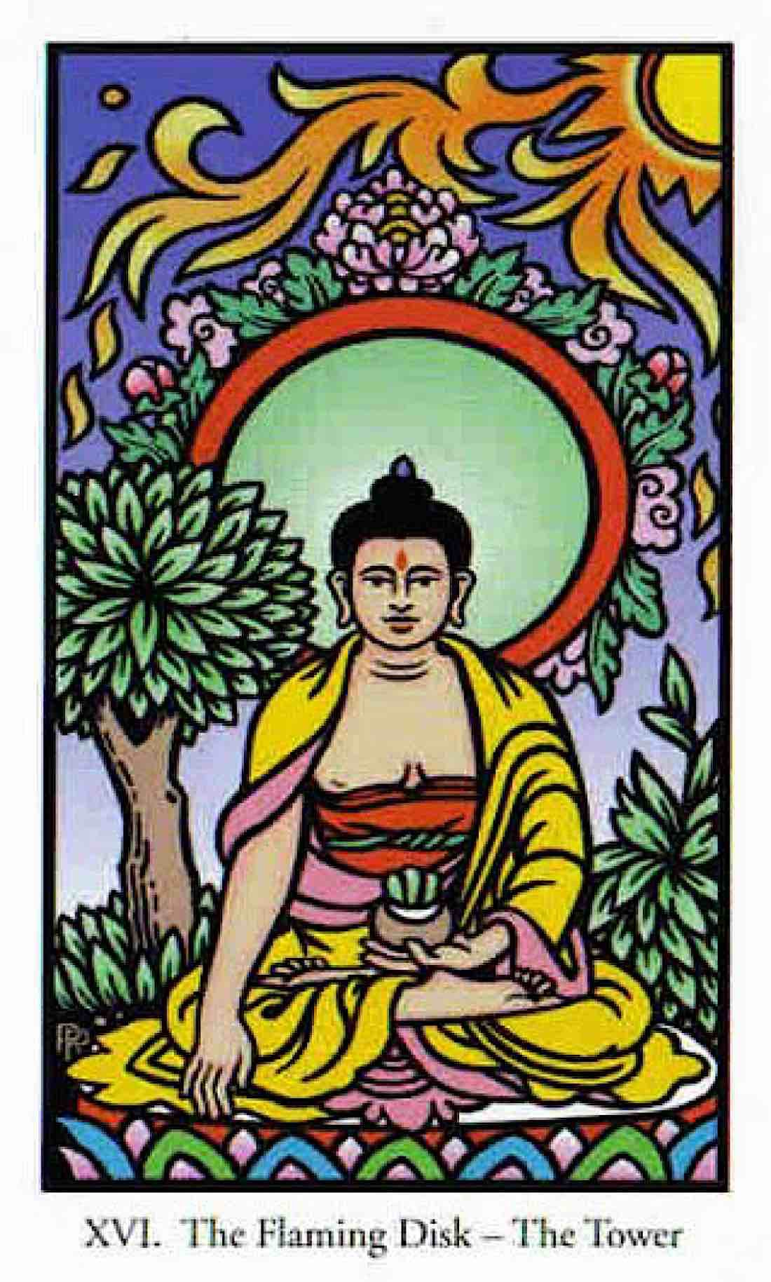 Buddha Weekly Budha in the Buddha Tarot Buddhism