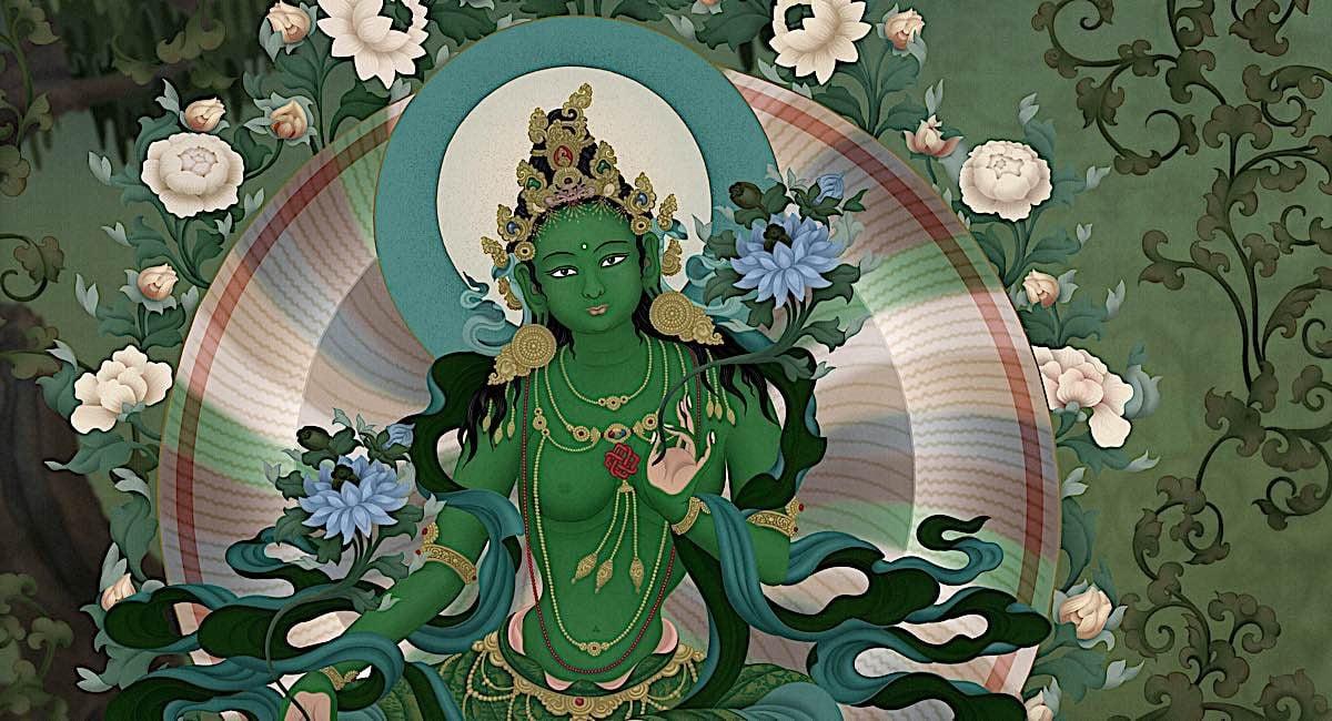 Buddha Weekly Chittimani Tara Jampay Dorje Ben Christian artist Buddhism