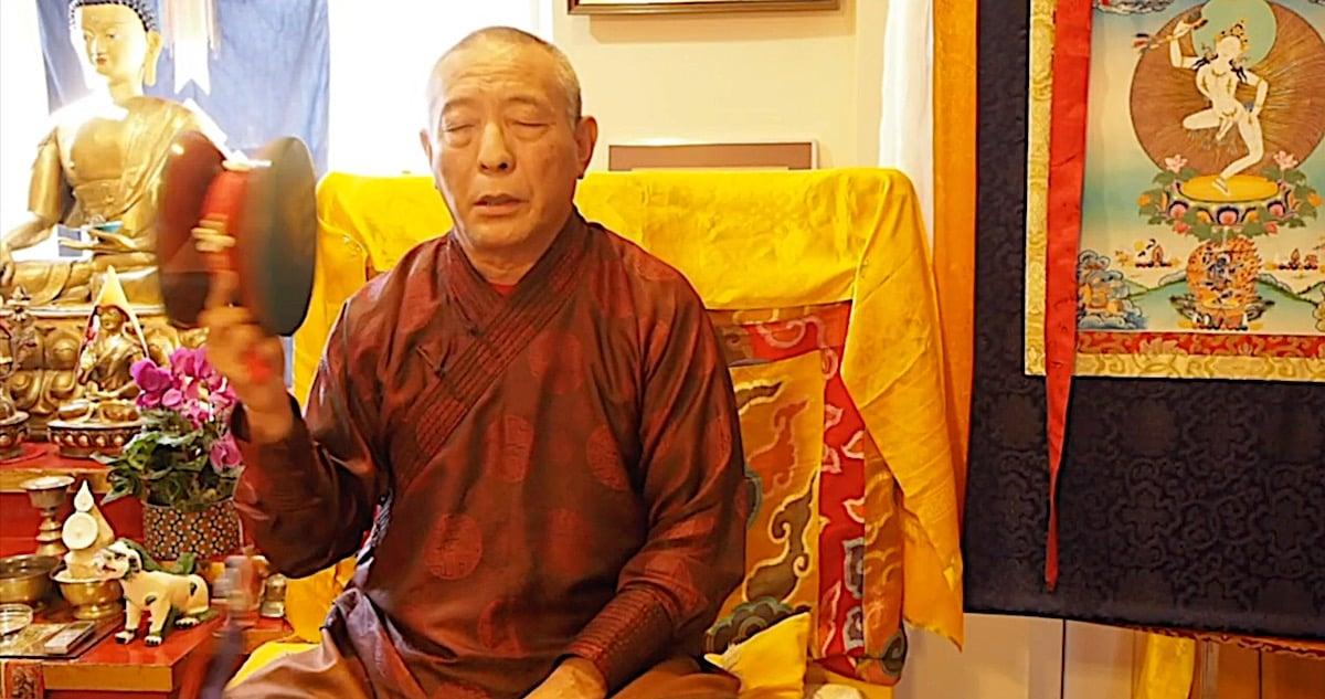 Buddha Weekly Chod Video H E Zasep Rinpoche Buddhism