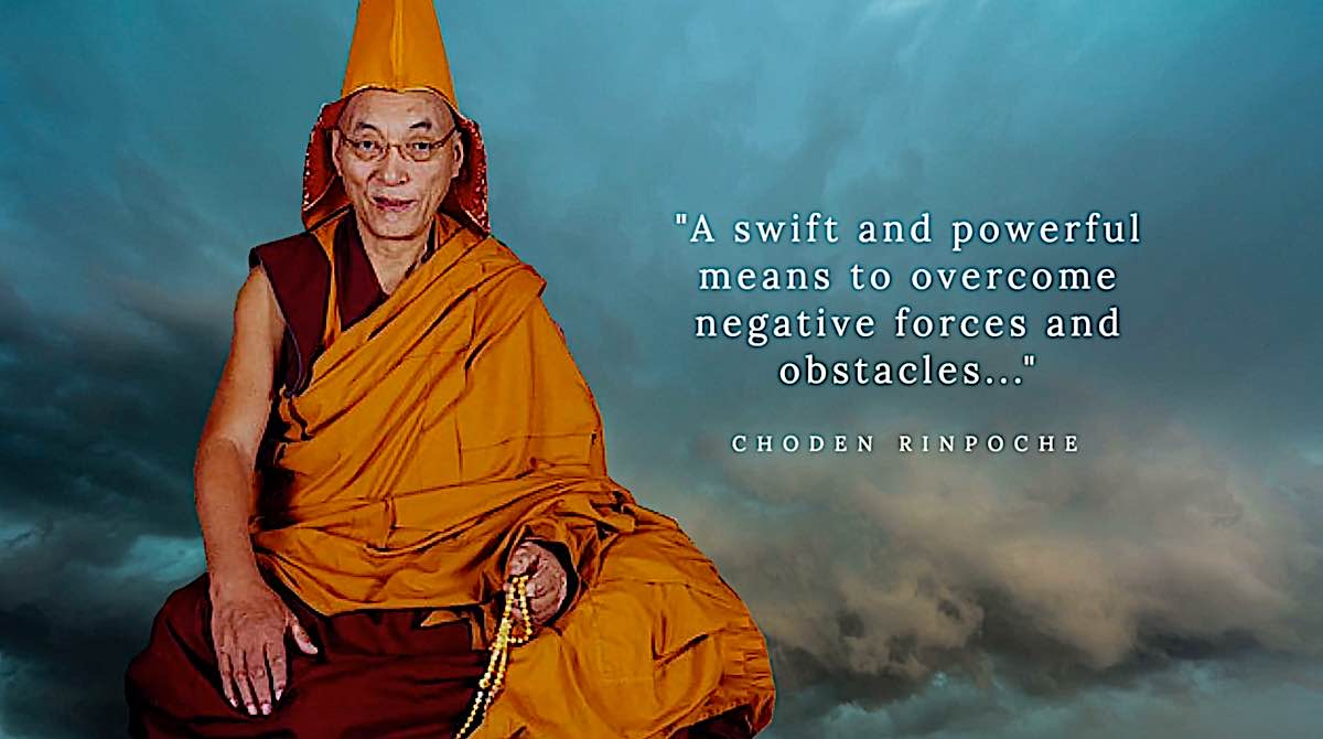 Buddha Weekly Choden Rinpoche Hayagriva swift means to overcome obstacles and negative forces Buddhism