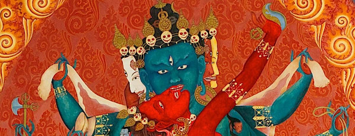 Buddha Weekly Close up Heruka and Vajrayogini Highest Yoga Tantra Buddhism