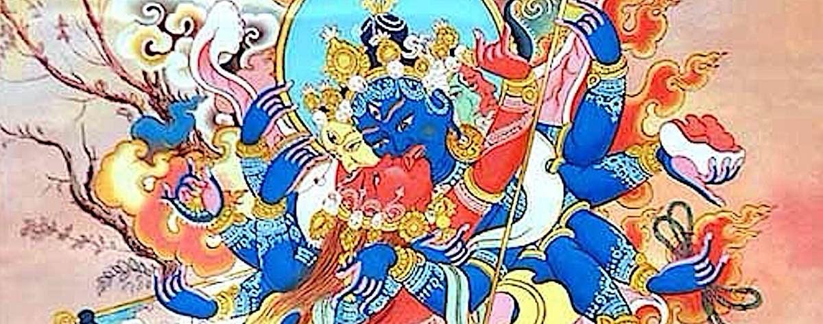 Buddha Weekly Close up of Vajrayogini and Heruka Buddhism