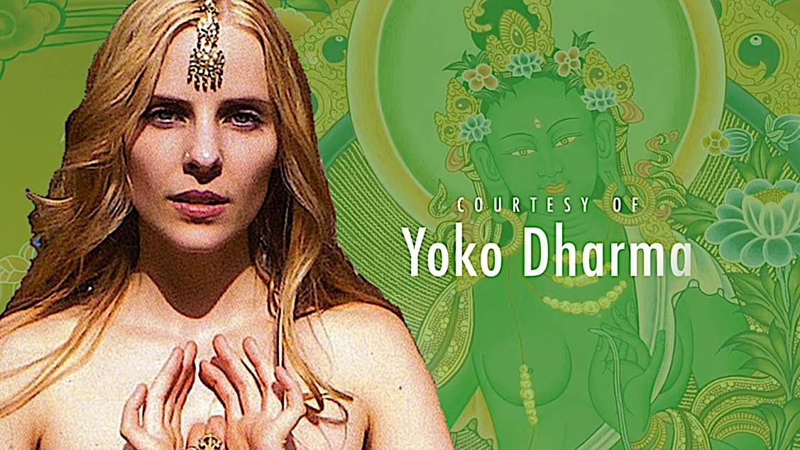 Buddha Weekly Courtesy of Yoko Dharma mantra sung Om Tare Tara Buddha Weekly Buddhism
