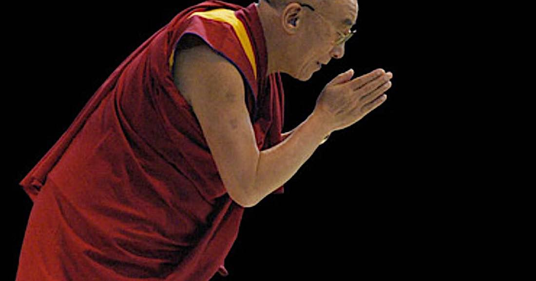 Buddha Weekly Dalai Lama Bowing Buddhism