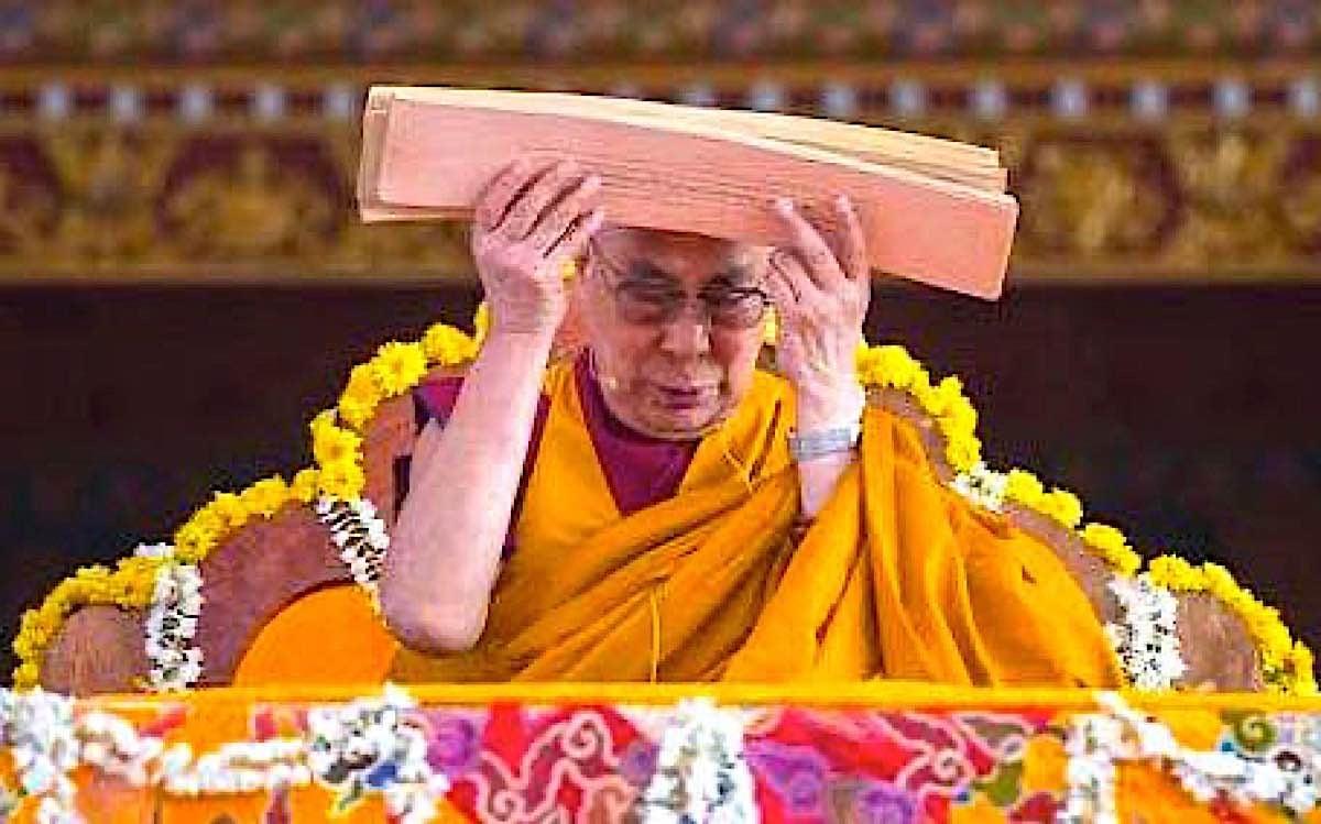Buddha Weekly Dalai Lama teaching Lamrim Buddhism
