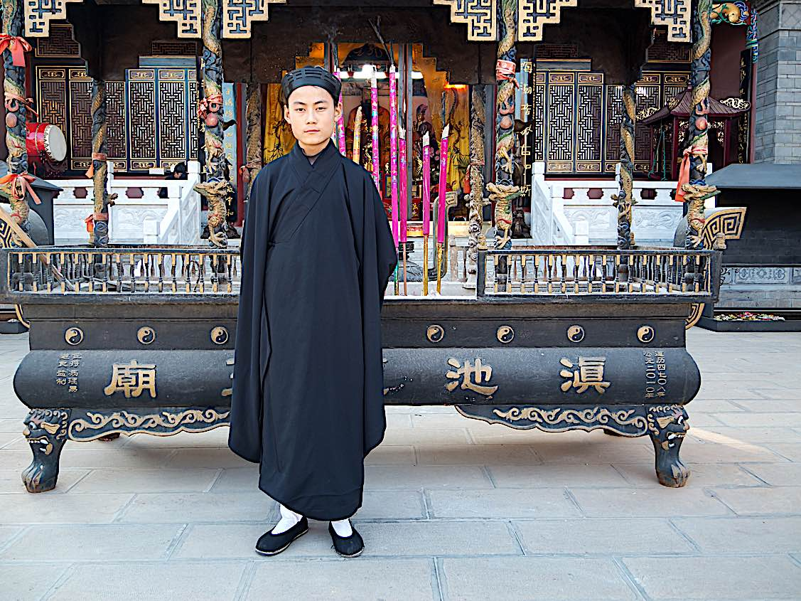 Buddha Weekly Daoist monk yunnan China Buddhism