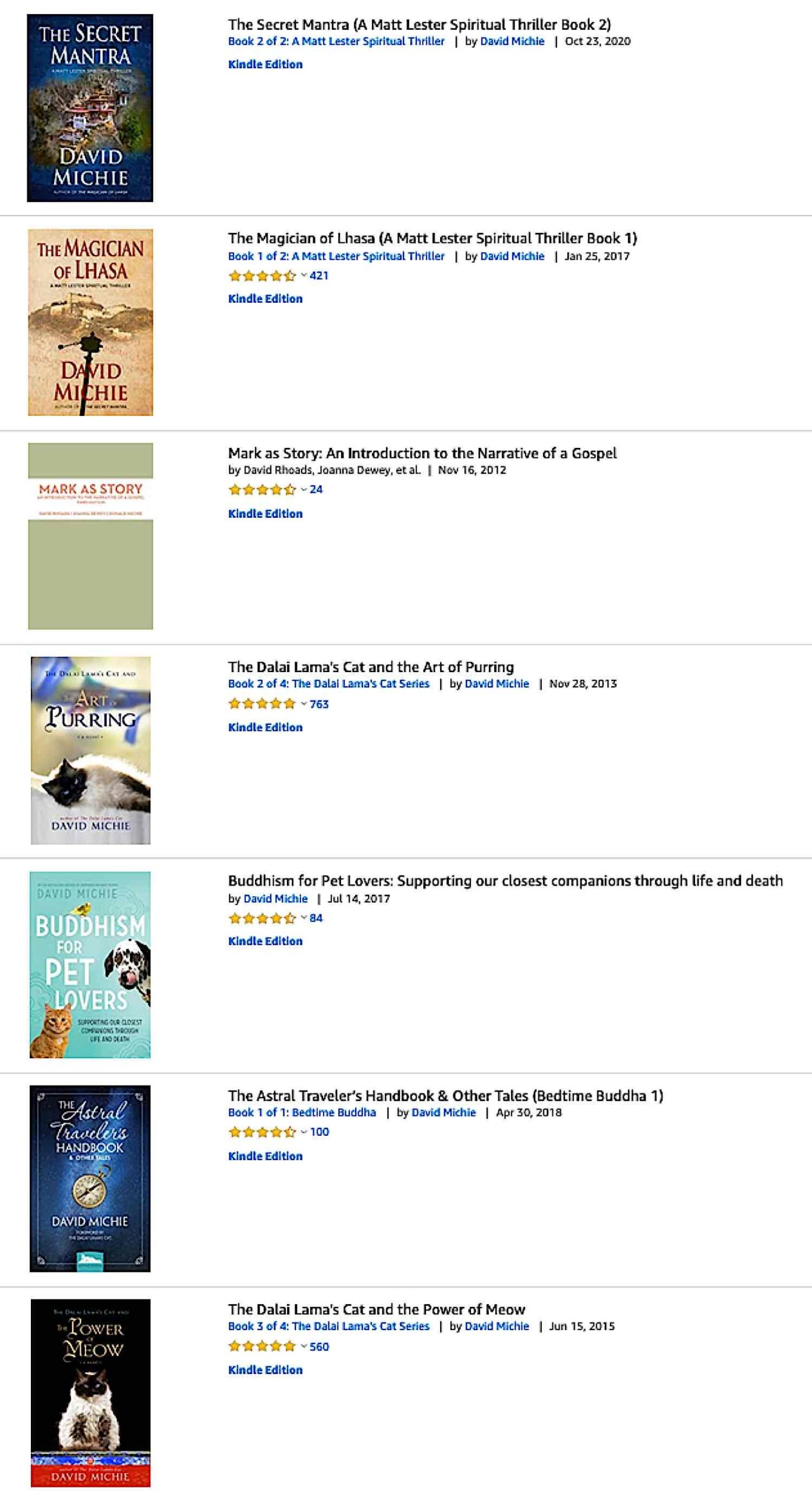 Buddha Weekly David Michie many books Buddhism scaled