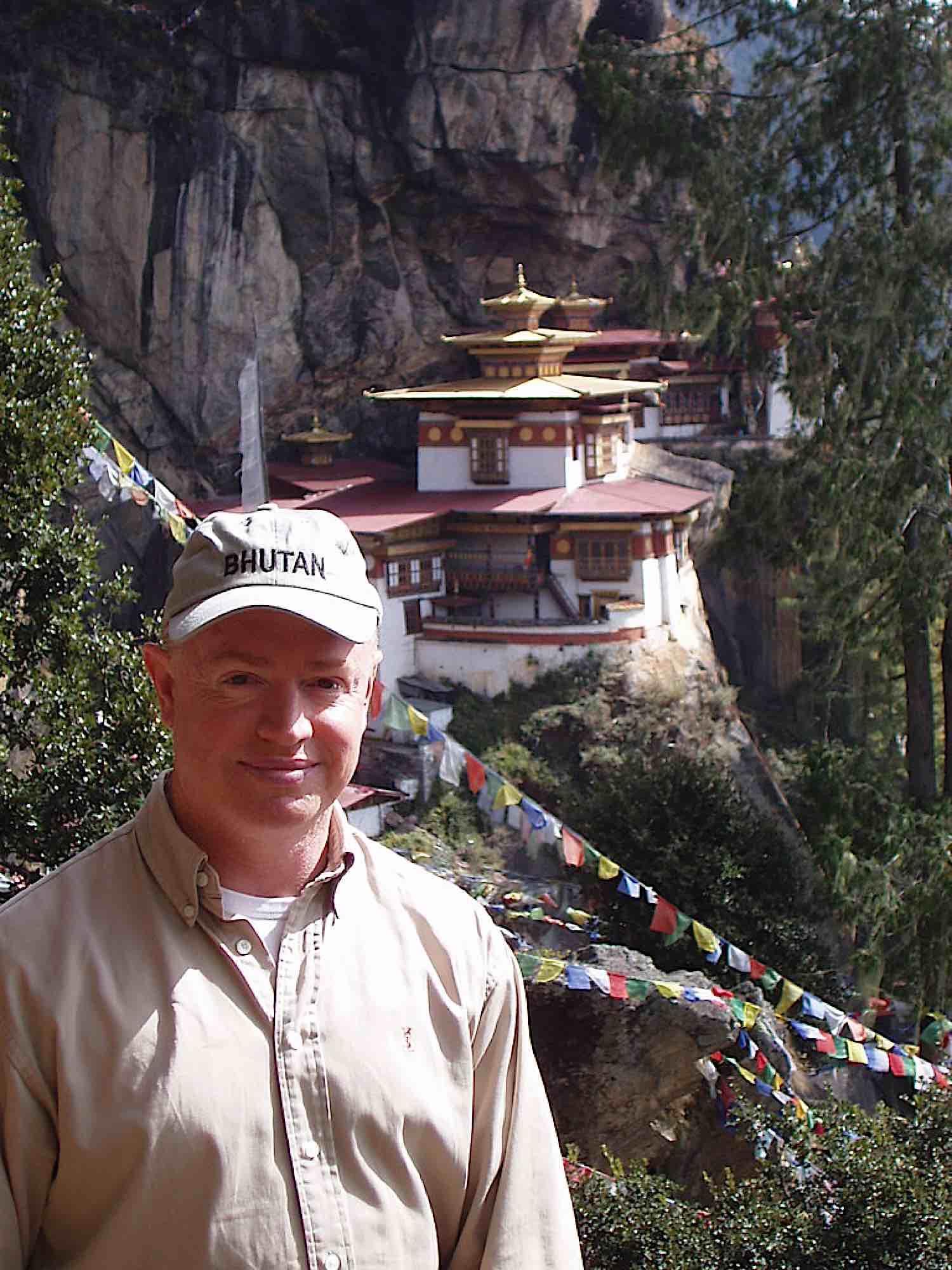 Buddha Weekly David at Tigers Nest Buddhism