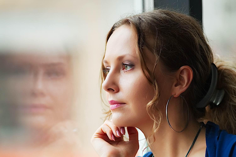 A depressed woman — Depression can be debilitating.