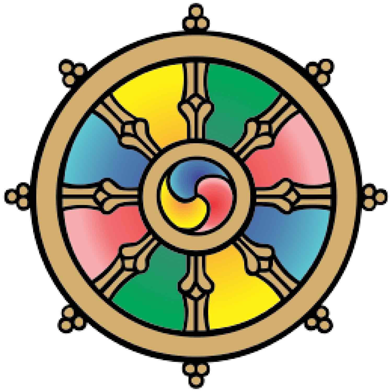 Buddha Weekly Dharmachakra Dharma Wheel Buddhist Symbol Buddhism