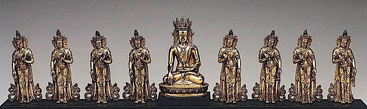 Buddha Weekly Eight Great Bodhisattvas Buddhism