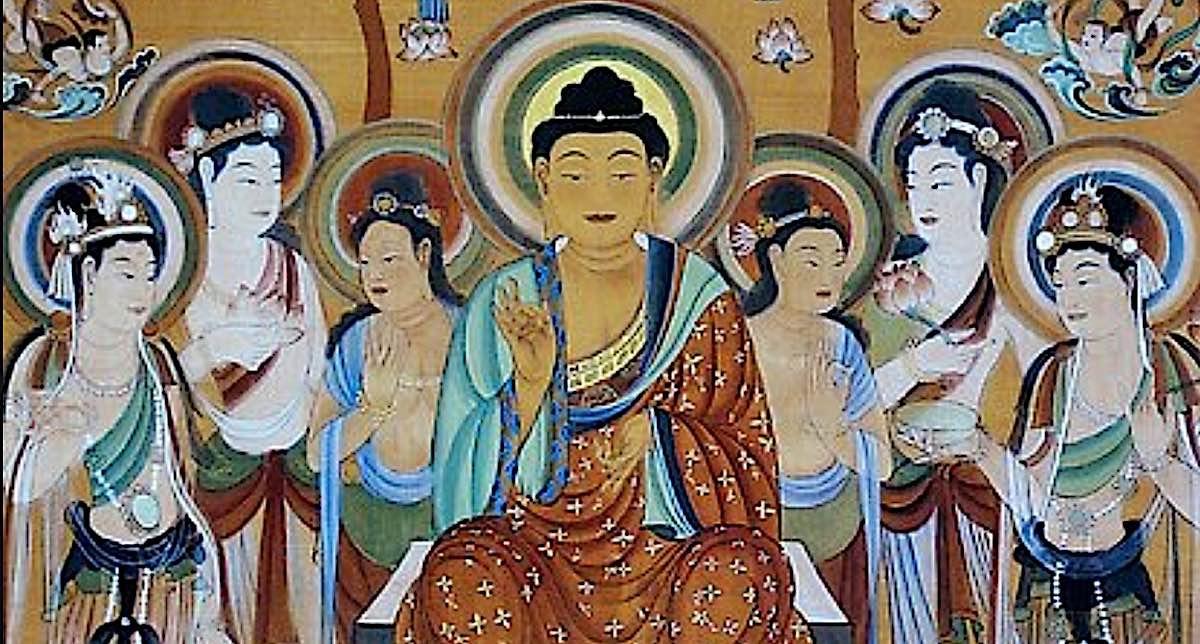 Buddha Weekly Eight great Bodhisatvas and Buddha Buddhism