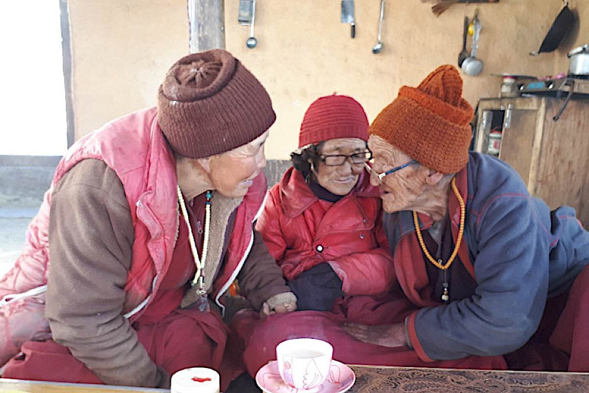 Buddha Weekly Elderly nuns Buddhism