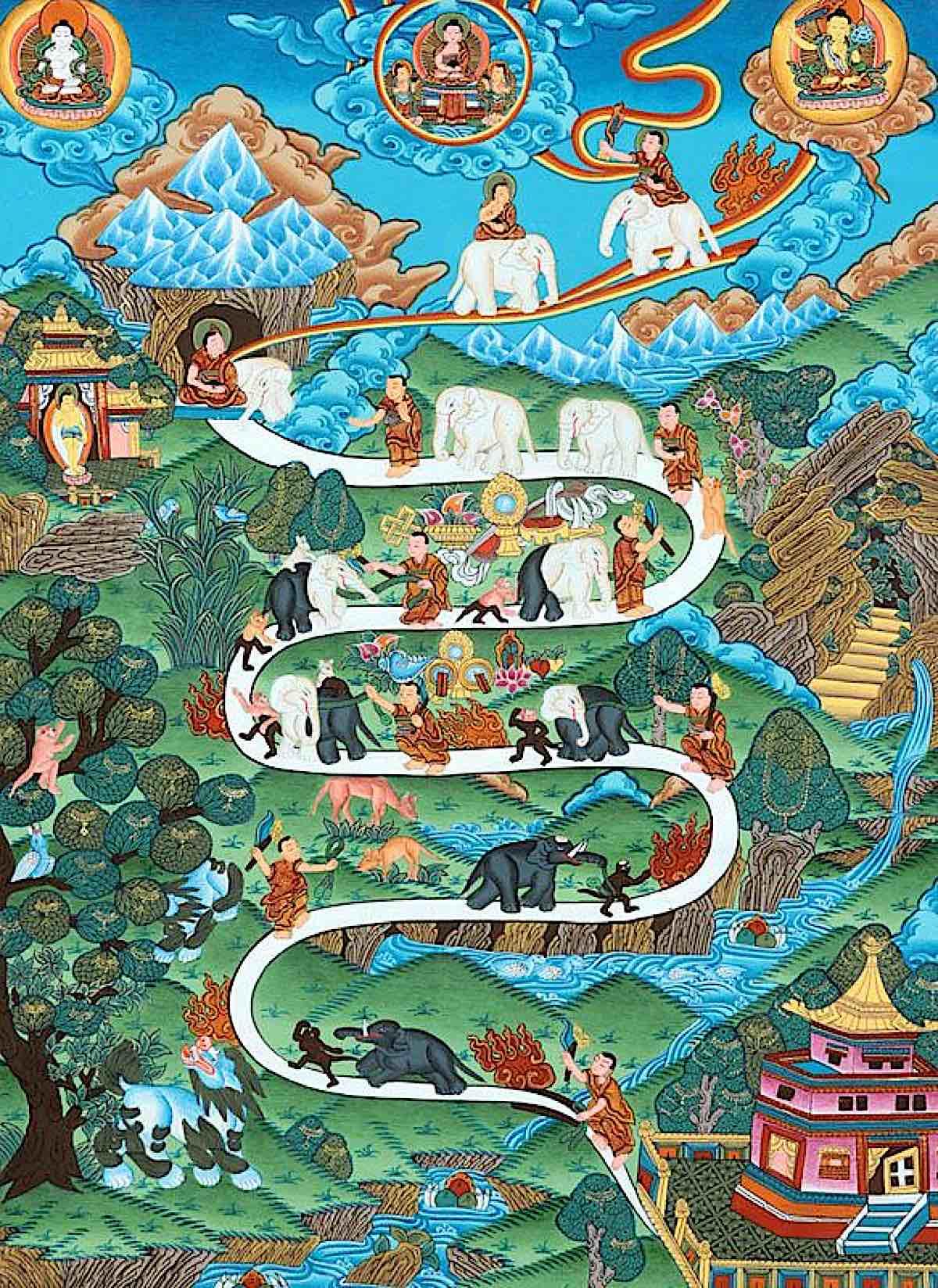 Buddha Weekly Elephant Path Buddhism Buddhism