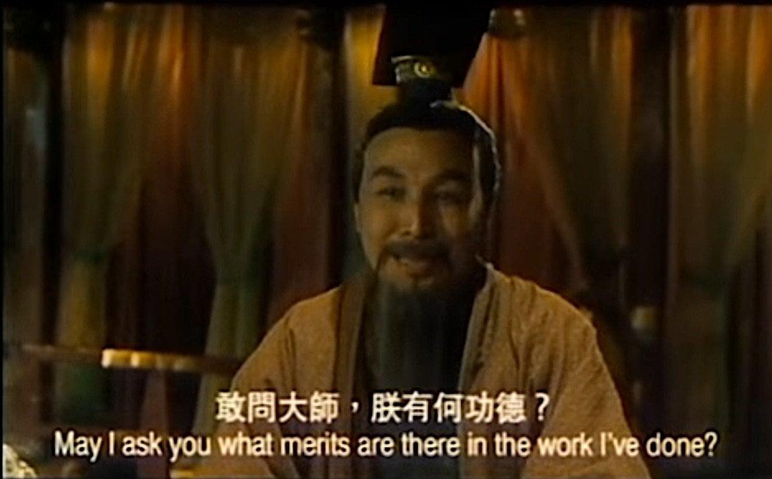 Buddha Weekly Emperor of China asks Bodhidharma if his Buddhist work earned him merits Buddhism