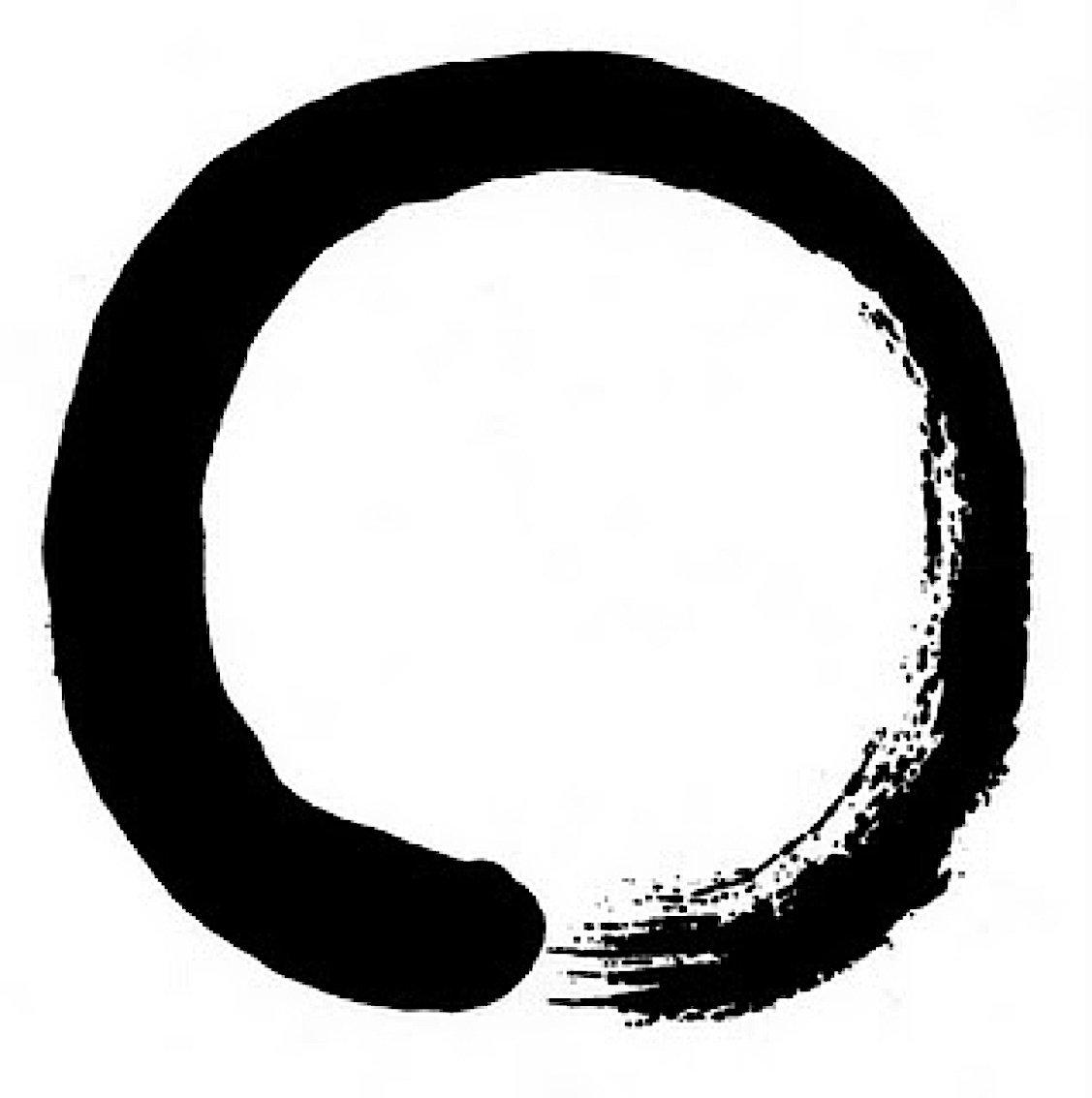 Buddha Weekly Enso Zen symbol of emptiness Buddhism
