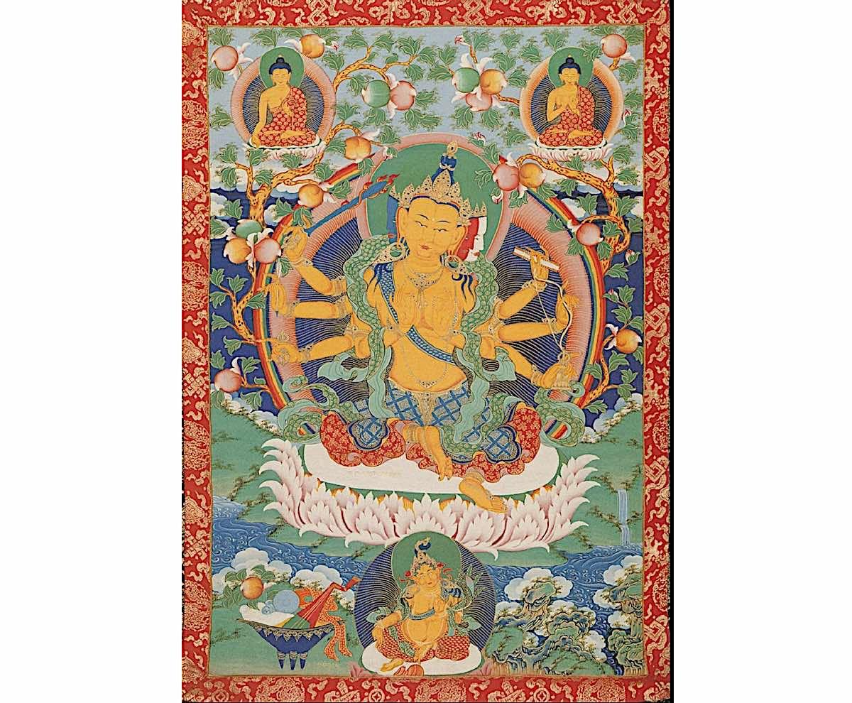 Buddha Weekly Exotic many armed Manjushri Buddhism