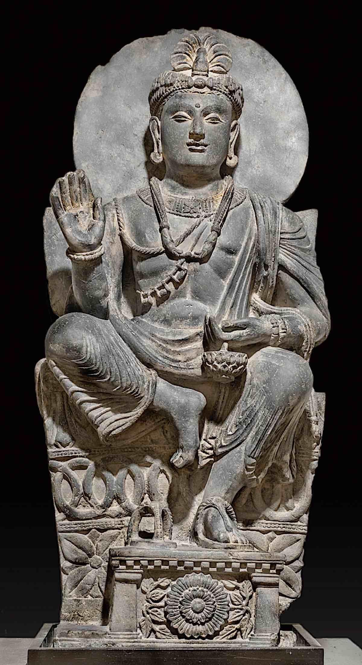 Buddha Weekly Famous statue of Maitreya Buddha Buddhism