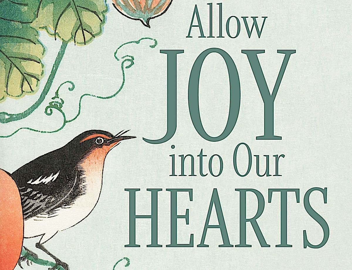 Buddha Weekly Feature Image for Allow Joy Into Our Hearts Rebecca Li book Buddhism