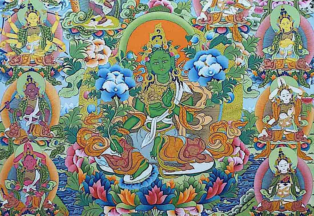 Buddha Weekly Feature image 21 taras Buddhism